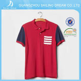 Mejor camisa de polo popular del Mens de Qualilty con diseño de la manera