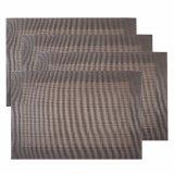Armure classique de jacquard Placemat tissé par textile pour la maison et le restaurant