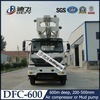 Het Controleren Hydaaulic van dfc-600 600m de Vrachtwagen van het Systeem zette de Gebruikte Machine van de Boring van de Put van het Water met RichtingOmloop op