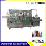 Equipo/máquina de relleno líquidos del agua de soda de las bebidas no alcohólicas de la máquina de rellenar del agua carbónica de la botella del animal doméstico