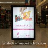 Рекламировать афишу Scrolling светлой коробки алюминия СИД напольную