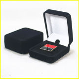 Caixa de moeda de couro quadrada da lembrança de Brown