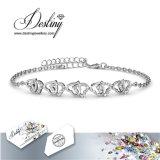 De Kristallen van de Juwelen van het lot van de Zoete Armband van Liefdes Swarovski