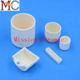 Crisol de cerámica del alúmina superficial Polished fino