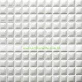 [موسيك تيل] أبيض خزفيّة ([وه-د851])