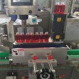 Máquina adesiva da etiqueta da etiqueta do frasco redondo