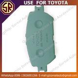 Utilisation des garnitures de frein de pièces d'auto de prix concurrentiel 04465-33320 pour Toyota