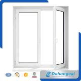 Janela de PVC impermeável de boa qualidade / janela de metal