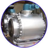 A válvula de alta pressão da esfera flangeou válvula de esfera