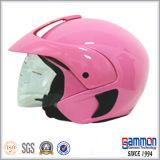 Demi de casque classique de moto/scooter de face (OP205)