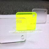 Folha acrílica do indicador plástico da carcaça para anunciar o sinal
