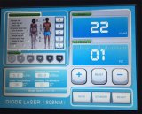 Alta calidad sin dolor 808nm máquina de eliminación del vello con láser de diodo láser con alemán