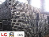 Ms con poco carbono laminado en caliente Welded Steel Square Pipe