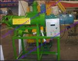 家禽は肥料の固体液体の分離器の手回し締め機の押出機機械に肥料をやる