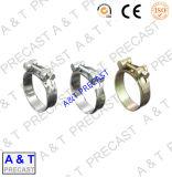 Type allemand colliers de vente chaude de la conduite d'acier inoxydable de brides de pipe
