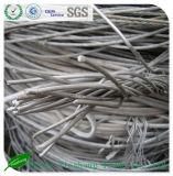 Desechos de aluminio 99.7% del alambre