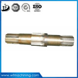 Usinagem de aço inoxidável CNC Precisão Macnining Roda de conexão / árvore de cames / Eixo