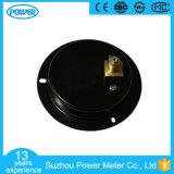 manometro Refrigerant montato comitato d'acciaio nero di caso di 2.5 '' 63mm