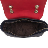디자이너 유행 금속 어깨끈 PU 숙녀 핸드백 (C71222)