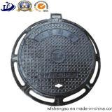 연성이 있는 철 배수장치를 위한 위생 하수구 모래 주물 맨홀 뚜껑