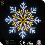 Reizend Acryl-2D Schneeflocke-Motiv-Licht für Weihnachtsdekoration
