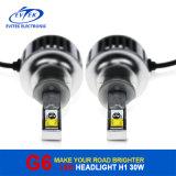 Farol quente do automóvel do diodo emissor de luz do farol H1/H3/H4/H7/9005/9006 do diodo emissor de luz da microplaqueta 3600lm de Osram do Sell
