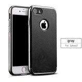 Fibra 2 del carbonio in 1 cassa del telefono delle cellule per il iPhone 7