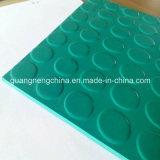 Fait dans le plancher en caoutchouc antidérapage normal de feuille en caoutchouc industrielle de couleur de rouleau en caoutchouc de la Chine
