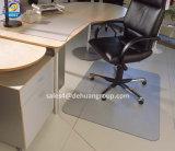 Циновка стула PVC офисной мебели для деревянного пола
