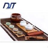 Mão de bambu pura do suporte de copo do chá de Healty - fábrica feita direta