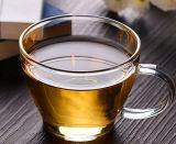 美しいホウケイ酸塩ガラスのコーヒーカップガラスのコップ