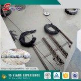 Venda por atacado de boa qualidade de alta eficiência de mármore cortando corda de arame de diamante