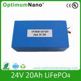 電気スクーターのための24V 20ah LiFePO4電池