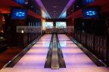 Bowlingspiel-Geräten-Glühen-in-Dunkles Testblatt