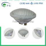 온난한 백색 차가운 백색 IP68 더 두꺼운 유리 35W RGB PAR56 옥외 LED 수중 수영풀 빛