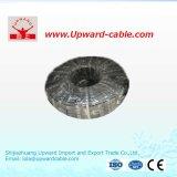 Fil électrique de cuivre mou normal de la gaine 2-Core de la GB Rvv2*2.5