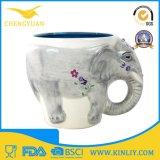 Tazza di caffè animale di ceramica della tazza di tè di abitudine 3D della novità