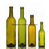 750ml, 500ml, 375ml, bottiglia di vino di colore verde 187ml