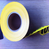 Таможня напечатала ленту опасности PE предупреждающий, пластичные ленты баррикады