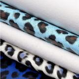 Кожа PU Aborter картины тигра леопарда способа сексуальная для одежд сумок мешков