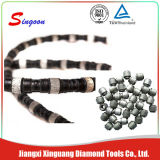 o fio do diamante da mola de 11.5mm viu para a estaca da pedreira