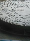 水溶性の黒いペンキの延性がある鋳鉄の正方形のマンホールカバー