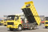 6X4ドライブの種類のためのSinotrukのダンプカートラックダンプトラック