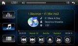 DVD van de auto de Speler Van verschillende media met Navigatie Bluetooth/GPS
