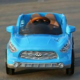 Carro de brinquedo com bateria de bebê RC