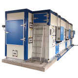 Máquina de secagem de lodo de cinturão