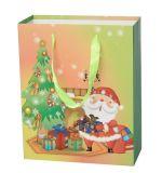 Saco da embalagem do presente do Natal