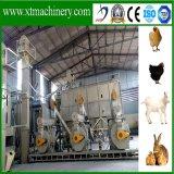 Aplicação da alimentação animal, levantamento agricultural, linha de produção da pelota