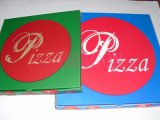 Couche triple de la boîte durable à pizza de Papier d'emballage de papier (GD-PB1005)