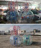 TPU Belüftung-Erwachsen-aufblasbarer Spielzeug-Luftblasen-Fußball-verworrene Stoßkugel im Fighting-Kugelkette-Spiel